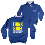 FB Ride Like The Wind Cycling Tee - Think Bike -  Womens Fitted Cotton T-Shirt Top T Shirt