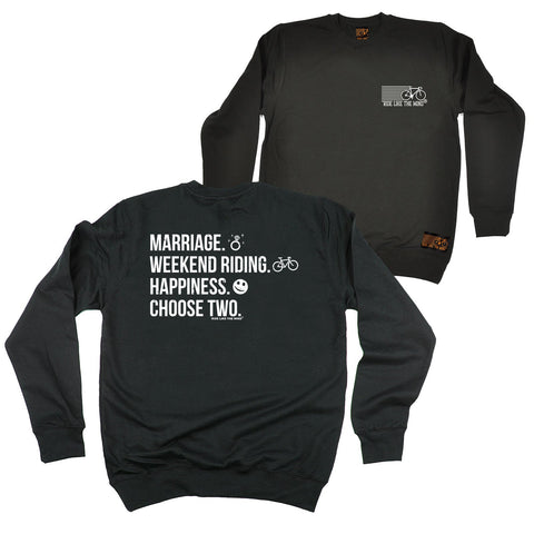 FB Ride Like The Wind Cycling Sweatshirt - Choose Two - Sweater Jumper