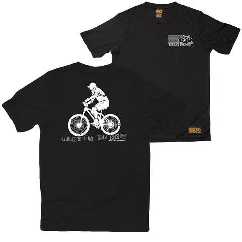 FB Ride Like The Wind Cycling Tee - My Gym - Dry Fit Performance T-Shirt