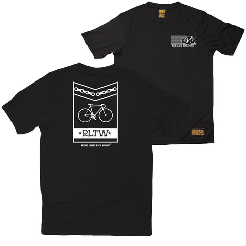 FB Ride Like The Wind Cycling Tee - Silhuette - Dry Fit Performance T-Shirt