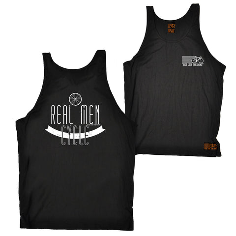 FB Ride Like The Wind Cycling Vest - Real Men - Bella Singlet Top