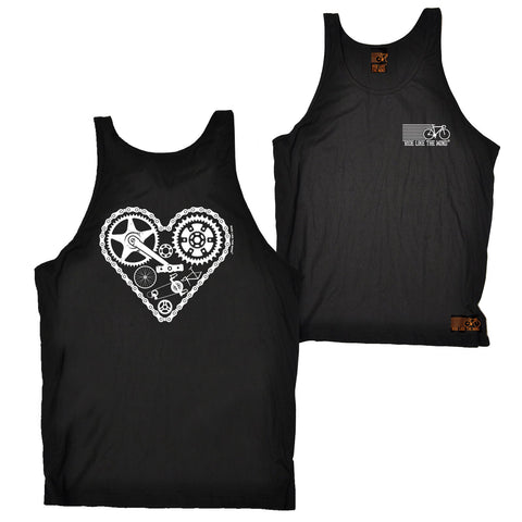 FB Ride Like The Wind Cycling Vest - Heart Parts - Bella Singlet Top