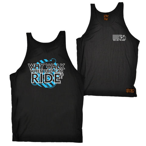 FB Ride Like The Wind Cycling Vest - Why Walk - Bella Singlet Top