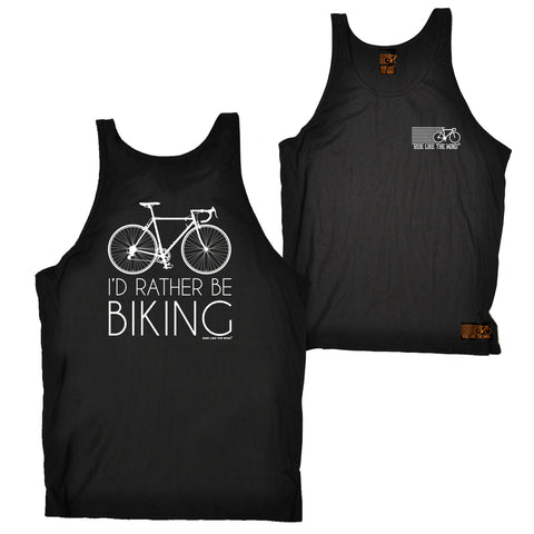 FB Ride Like The Wind Cycling Vest - Rather Biking - Bella Singlet Top