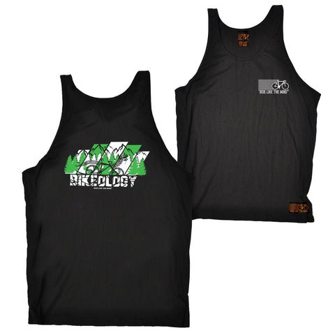 FB Ride Like The Wind Cycling Vest - Bikeology - Bella Singlet Top