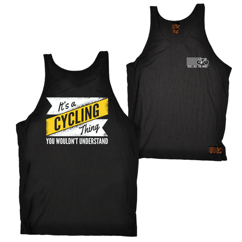 FB Ride Like The Wind Cycling Vest - Cycling Thing - Bella Singlet Top