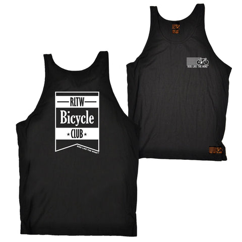 FB Ride Like The Wind Cycling Vest - Bicycle Club - Bella Singlet Top