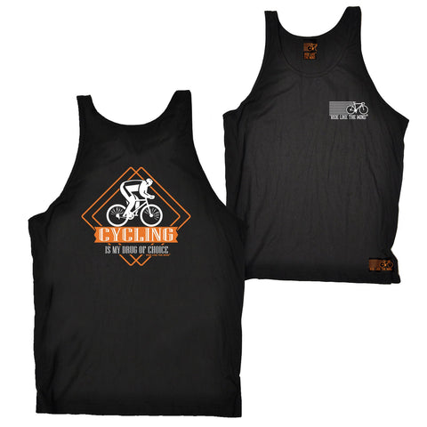 FB Ride Like The Wind Cycling Vest - Drug Of Choice - Bella Singlet Top