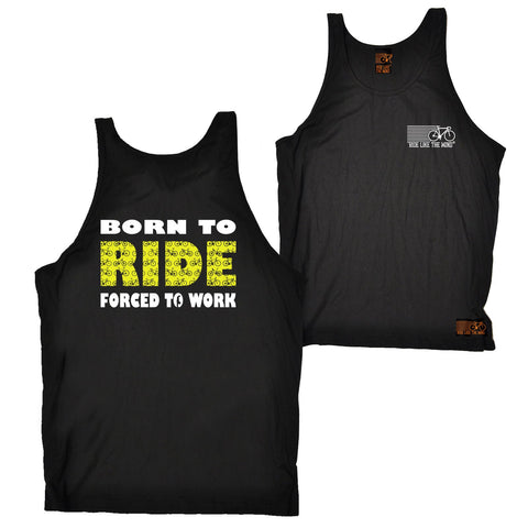 FB Ride Like The Wind Cycling Vest - Forced To Work - Bella Singlet Top
