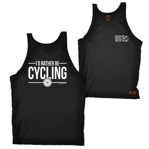 FB Ride Like The Wind Cycling Vest - Rather Cycling - Bella Singlet Top