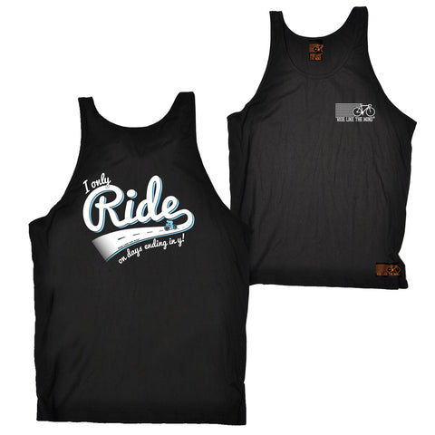 FB Ride Like The Wind Cycling Vest - Days Ending In Y - Bella Singlet Top