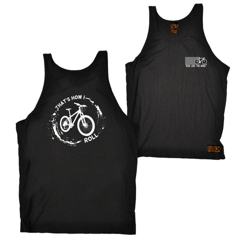 FB Ride Like The Wind Cycling Vest - Thats How I Roll - Bella Singlet Top