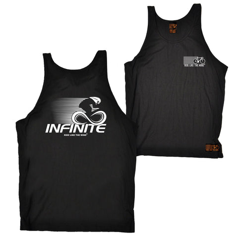 FB Ride Like The Wind Cycling Vest - Infinite - Bella Singlet Top
