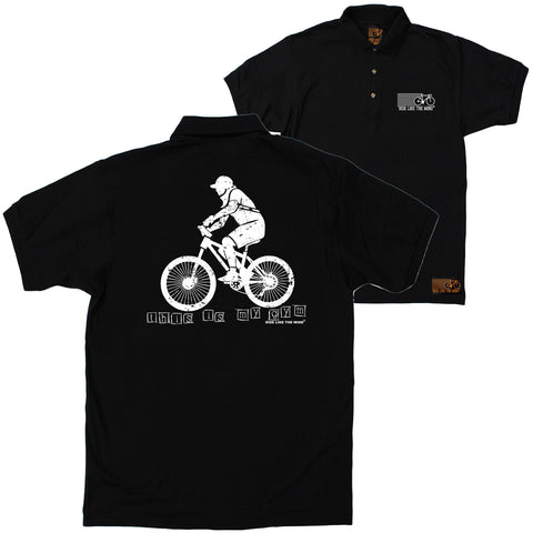 FB Ride Like The Wind Cycling Polo Shirt - My Gym - Polo T-Shirt