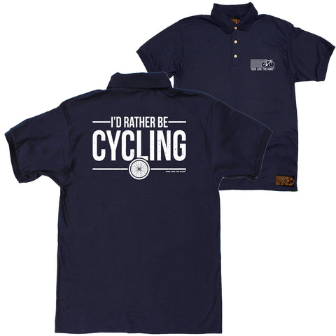 FB Ride Like The Wind Cycling Polo Shirt - Rather Cycling - Polo T-Shirt