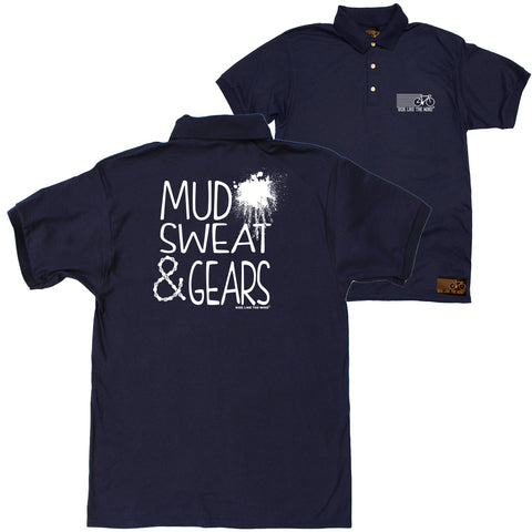 FB Ride Like The Wind Cycling Polo Shirt - Mud Sweat Gears - Polo T-Shirt