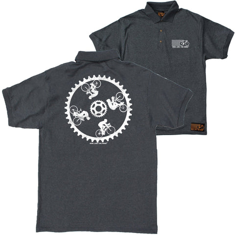 FB Ride Like The Wind Cycling Polo Shirt - Gear Riders - Polo T-Shirt