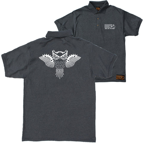 FB Ride Like The Wind Cycling Polo Shirt - Owl Parts - Polo T-Shirt