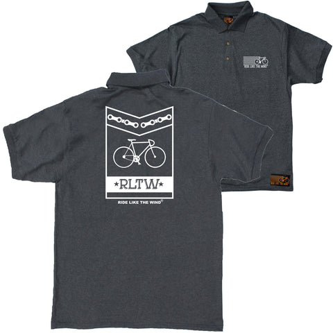 FB Ride Like The Wind Cycling Polo Shirt - Silhuette - Polo T-Shirt
