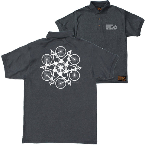 FB Ride Like The Wind Cycling Polo Shirt - Kaleidoscope - Polo T-Shirt