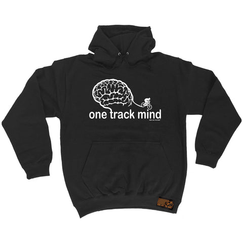 Ride Like The Wind One Track Mind Cycling Hoodie