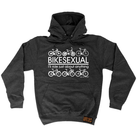 Ride Like The Wind Bikesexual ... About Anything Cycling Hoodie