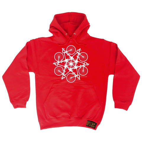 Ride Like The Wind Kaleidospoke Cycling Hoodie