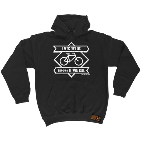 Ride Like The Wind I Was Cycling Before It Was Cool Cycling Hoodie