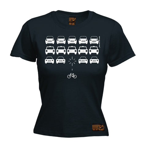 Ride Like The Wind Women's Bike Invaders Cycling T-Shirt