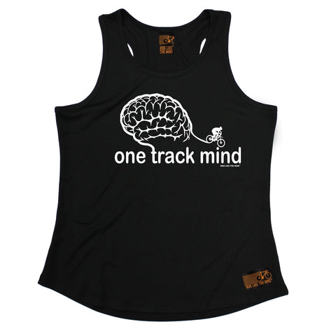 Ride Like The Wind One Track Mind Cycling Girlie Training Vest