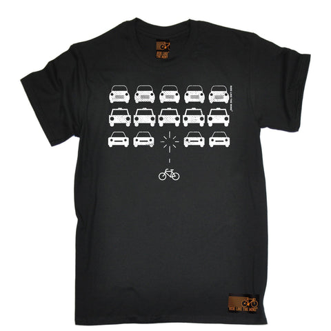 Ride Like The Wind Men's Bike Invaders Cycling T-Shirt