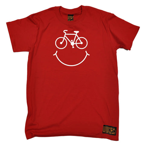 Ride Like The Wind Men's Bicycle Smile Cycling T-Shirt