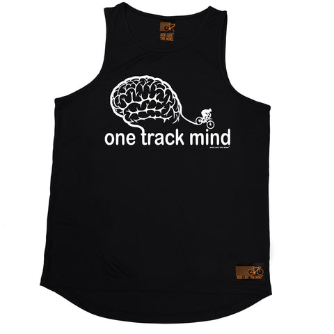 Ride Like The Wind One Track Mind Cycling Men's Training Vest