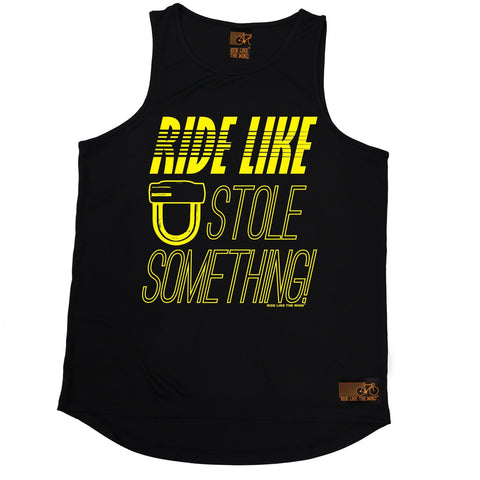 Ride Like The Wind Ride Like You Stole Something Cycling Men's Training Vest