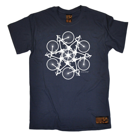 Ride Like The Wind Men's Kaleidospoke Cycling T-Shirt