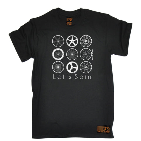 Ride Like The Wind Men's Let's Spin Cycling T-Shirt