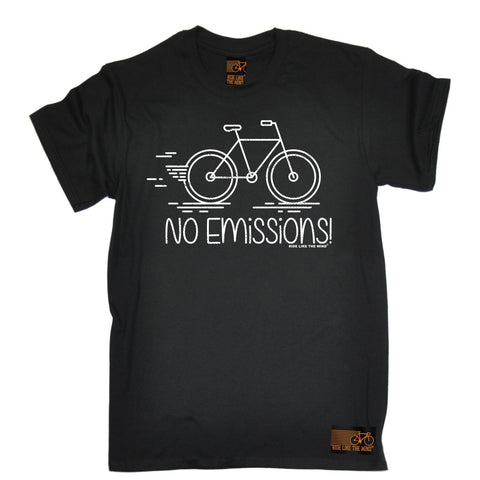 Ride Like The Wind Men's No Emissions Cycling T-Shirt