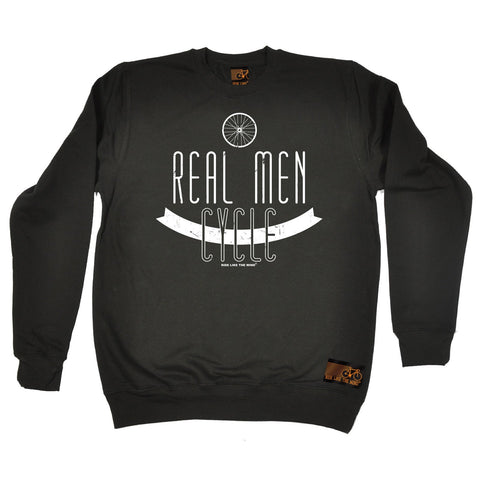 Ride Like The Wind Real Men Cycle Cycling Sweatshirt