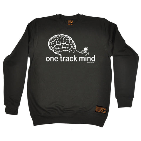 Ride Like The Wind One Track Mind Cycling Sweatshirt