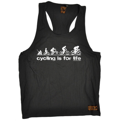 Ride Like The Wind Cycling Is For Life Men's Tank Top