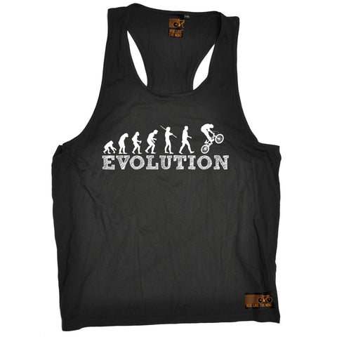 Ride Like The Wind Evolution BMX Cycling Men's Tank Top