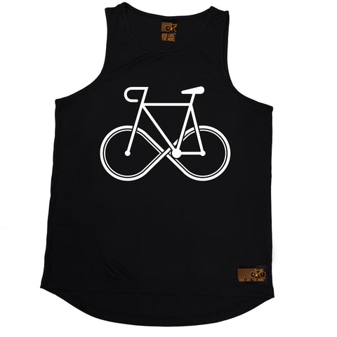 Ride Like The Wind Infinity Bike Design Cycling Men's Training Vest