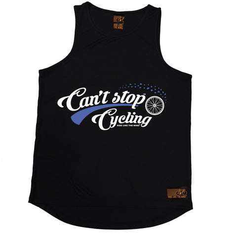 Ride Like The Wind Can't Stop Cycling Men's Training Vest