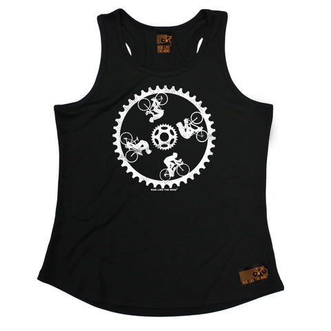 Ride Like The Wind Cycling Wall Of Death Girlie Training Vest