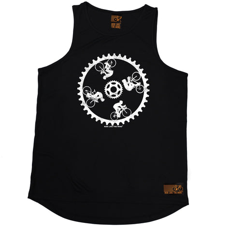 Ride Like The Wind Cycling Wall Of Death Men's Training Vest