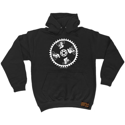 Ride Like The Wind Cycling Wall Of Death Hoodie