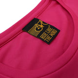 FB Ride Like The Wind Cycling Ladies Tee - Peace Chain - Round Neck Dry Fit Performance T-Shirt