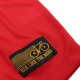 Women's RIDE LIKE THE WIND - Bicycle Wheel Cross Bones - Premium Dry Fit Breathable Sports ROUND NECK T-SHIRT - tee top cycling cycle bicycle jersey t shirt