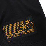 Women's RIDE LIKE THE WIND - Downhill Evolution - Premium Dry Fit Breathable Sports V-Neck T-SHIRT - tee top cycling cycle bicycle jersey t shirt
