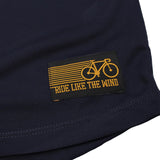 Women's RIDE LIKE THE WIND - Eat Sleep Bike - Premium Dry Fit Breathable Sports V-Neck T-SHIRT - tee top cycling cycle bicycle jersey t shirt